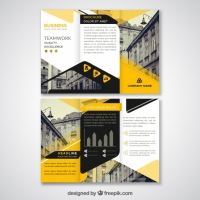 black-and-yellow-abstract-triptych-template_23-2147656393 Matbaa Baskı İmalat