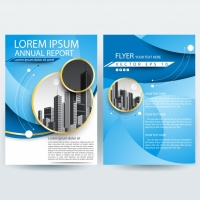 business-brochure-template-with-blue-curve-shapes_1407-343 Matbaa Baskı İmalat