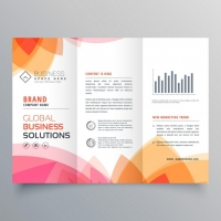 modern-brochure-with-warm-colors_1017-6296 Matbaa Baskı İmalat