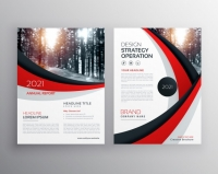 wavy-business-brochure-template_1017-9604 Matbaa Baskı İmalat