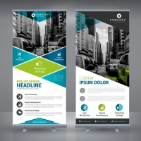 roll-up-template-design_1281-190 Matbaa Baskı İmalat