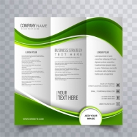 green-wavy-business-brochure-template_1035-8894 Matbaa Baskı İmalat