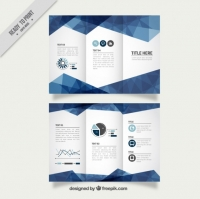 geometric-blue-business-trifold_23-2147538007 Matbaa Baskı İmalat